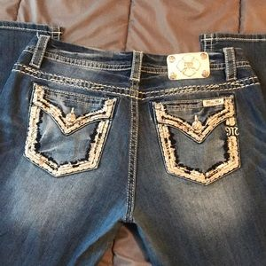Miss me easy ankle skinny size 32